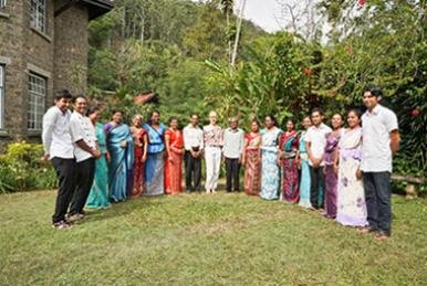 Ayurveda Kur in Sri Lanka - Willkommen